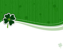 Saint Patrick Day Greeting Card Stock Photos