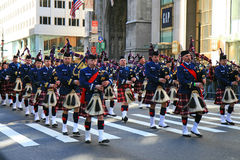 The Saint Patrick Day Parade stock photography