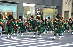 The Saint Patrick Day Parade stock photos