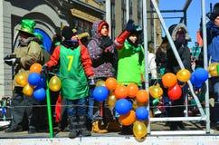 Free Saint Patrick Day Parade Royalty Free Stock Photography - 50147347