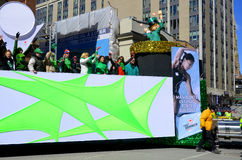 Saint Patrick day parade Stock Photos