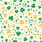 Saint Patrick day seamless pattern design. La Fheile Padraig hol Royalty Free Stock Images