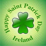Saint patrick design Stock Image
