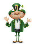 Saint patrick elf leprechaun Stock Photos