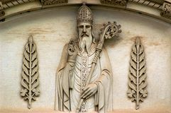 Saint Patrick et oxalidex petite oseille Image stock