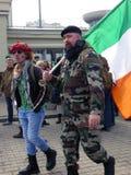 Saint Patrick Festival, Moscou Russie Images libres de droits