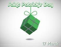 Saint Patrick greeting Stock Photo