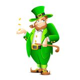 Saint Patrick Leprechaun Stock Photography