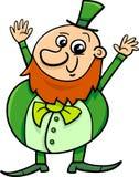 Saint patrick leprechaun cartoon Stock Photos