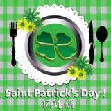 Saint Patrick meal Stock Photo