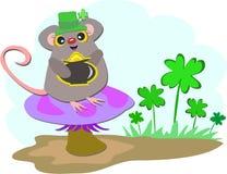 Saint Patrick Mouse Stock Images
