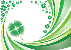 Saint patrick's background Stock Photography