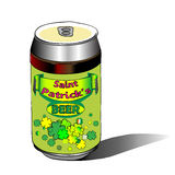 Saint patrick s beer doodle Stock Photos