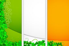 Saint Patrick's Card Royalty Free Stock Photo