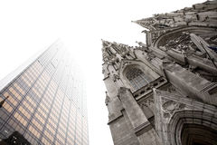 Saint Patrick's Cathedral. Fifth Avenue, MIdtown, Manhattan, New York City, USA Royalty Free Stock Images