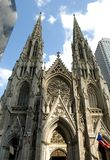 Saint Patrick's Cathedral. New York Royalty Free Stock Images