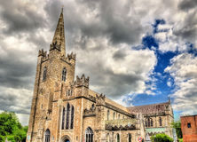 Saint Patrick's Cathedral in Dublin Royalty Free Stock Photography
