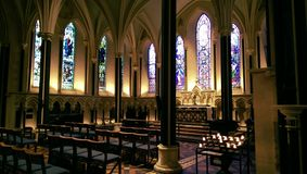 Saint Patrick's Cathedral, Lady Chapel royalty free stock images