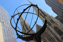 Saint Patrick's Cathedral in New York City Royalty Free Stock Image