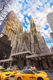 Saint Patrick's Cathedral NYC Royalty Free Stock Photos