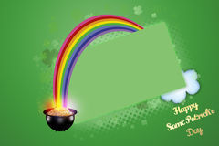 Saint Patrick's Day. Festive Happy Saint Patrick's Day background Royalty Free Stock Images