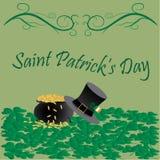 Saint patrick's day. Illustration of saint patrick's day celebration greetings Stock Photo