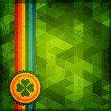 Saint Patrick's Day abstract grunge background Royalty Free Stock Photography