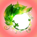 Background for Patrick s day poster Stock Photography