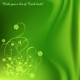 Saint Patrick' s Day background Stock Image