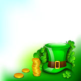 Saint Patrick's Day background Stock Images