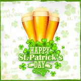 Saint Patrick's Day background Stock Image