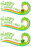 Saint Patrick's Day Banner Royalty Free Stock Photos