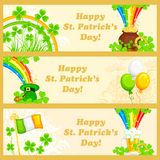 Saint Patrick's Day Banner Stock Images