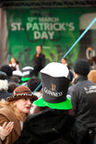 Saint Patrick s Day in Bucharest Royalty Free Stock Images