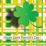 Saint Patrick's Day Card Royalty Free Stock Images