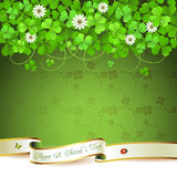 Saint Patrick's Day card Royalty Free Stock Photo