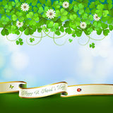 Saint Patrick's Day card Royalty Free Stock Image