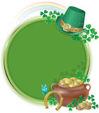 Saint Patricks Day card Stock Image