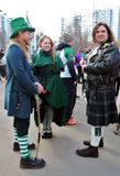 Saint Patrick`s Day celebration in Moscow. Stock Image