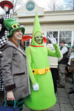 Saint Patrick`s Day celebration in Moscow Royalty Free Stock Images