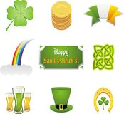 Saint Patrick's day collection Stock Photography