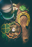 Saint Patrick`s Day concept Stock Photography