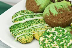Saint Patrick's Day Cookies Royalty Free Stock Photos