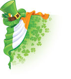 Saint Patrick's Day corner Royalty Free Stock Photos
