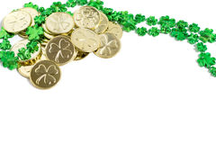 Saint Patrick's Day Decorations Royalty Free Stock Photos