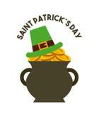 Saint patrick's day design Royalty Free Stock Photography
