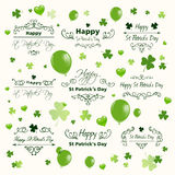 Saint Patrick's Day Design Elements Royalty Free Stock Photo