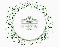 Saint Patrick's Day Design Royalty Free Stock Photo