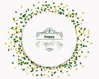 Saint Patrick's Day Design Royalty Free Stock Photos