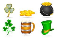 Saint Patrick's Day Elements Royalty Free Stock Photos